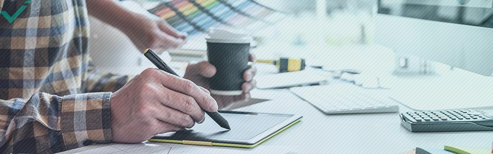 Een visueel ontwerp versterkt uw merk