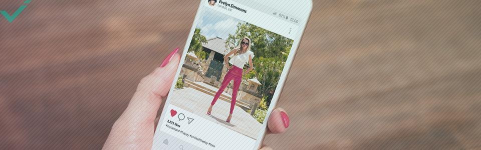 Bovendien waardeert het algoritme van Instagram profielen die tags toevoegen.